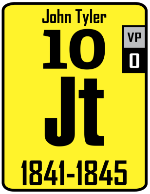 The Periodic Table of the Presidents - John Tyler