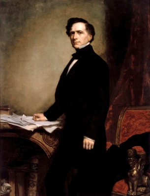 Franklin Pierce Official Portrait - The Periodic Table of the Presidents