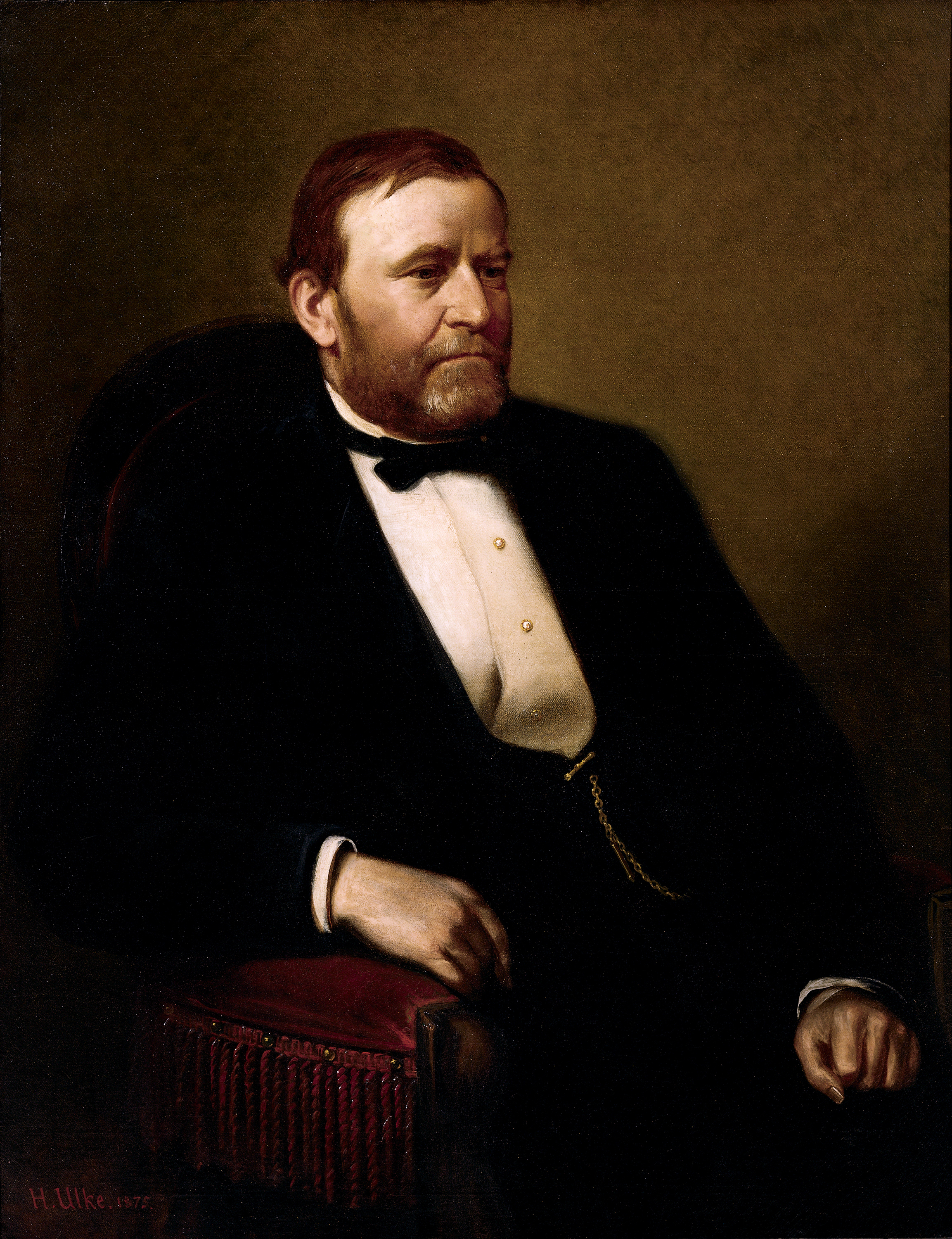 portrait gallery the periodic table of the presidents ulysses s grant official portrait the periodic table of the presidents