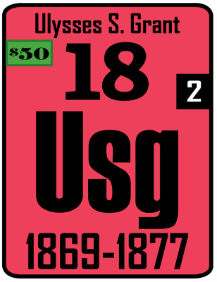 The Periodic Table of the Presidents - Ulysses S. Grant
