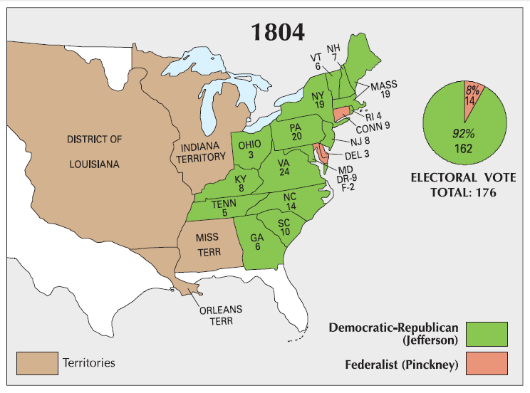 Election Maps The Periodic Table Of The Presidents - Us election history map