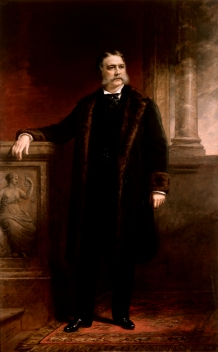Chester A. Arthur Official Portrait - The Periodic Table of the Presidents
