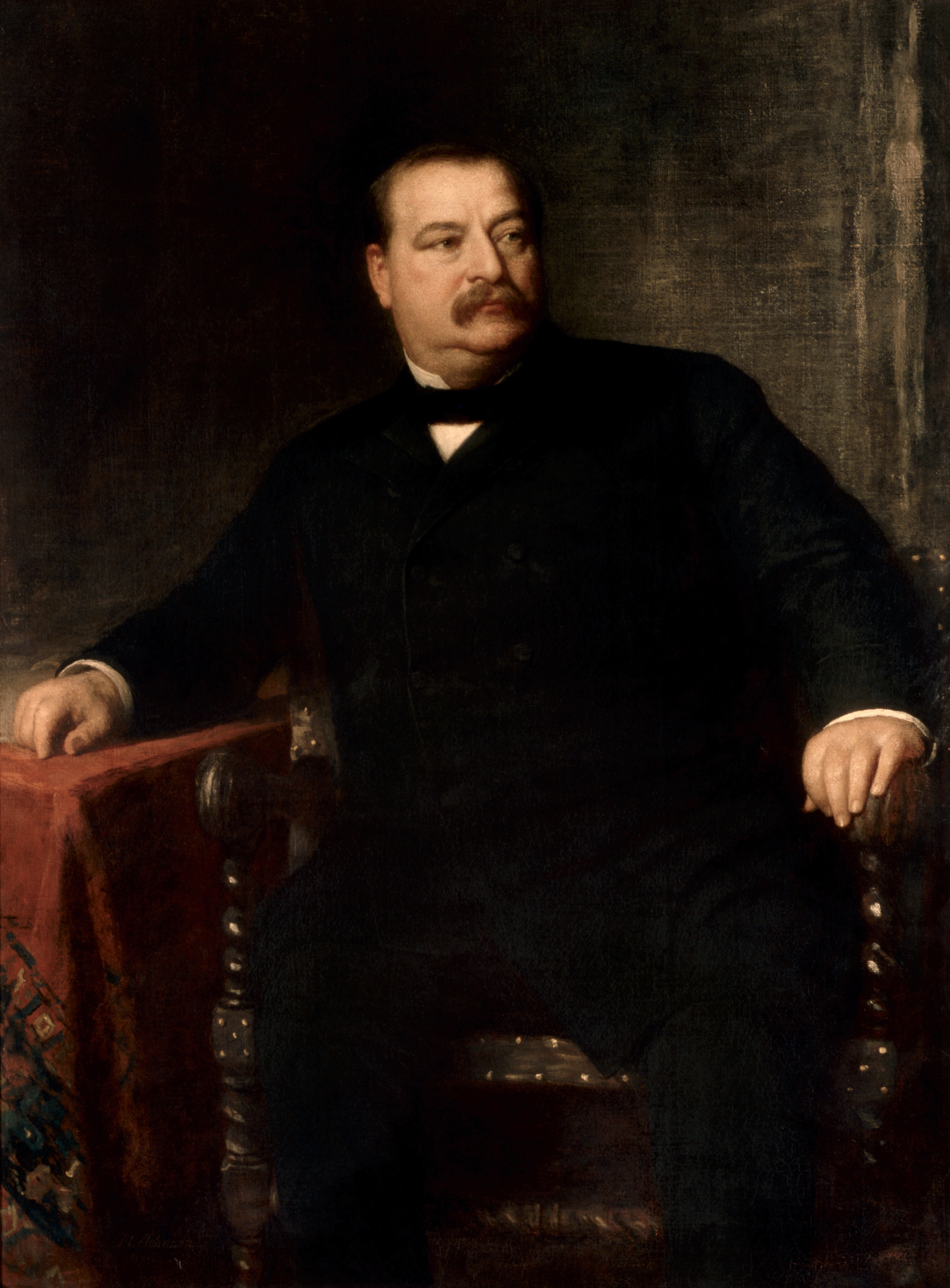 24 Grover Cleveland The Periodic Table Of The Presidents