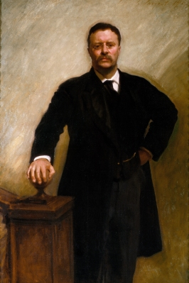 Theodore Roosevelt Official Portrait - The Periodic Table of the Presidents
