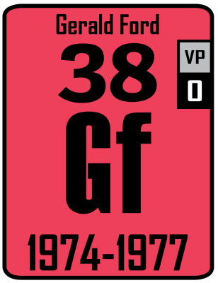 The Periodic Table of the Presidents - Gerald Ford
