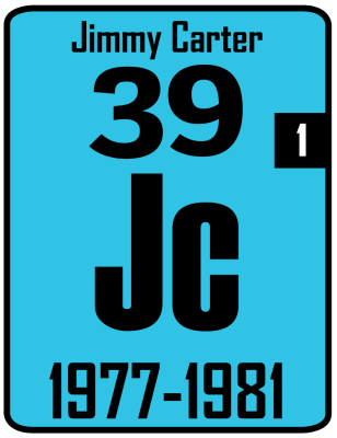 The Periodic Table of the Presidents - Jimmy Carter