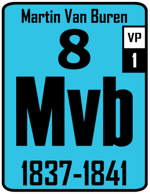 The Periodic Table of the Presidents - Martin Van Buren