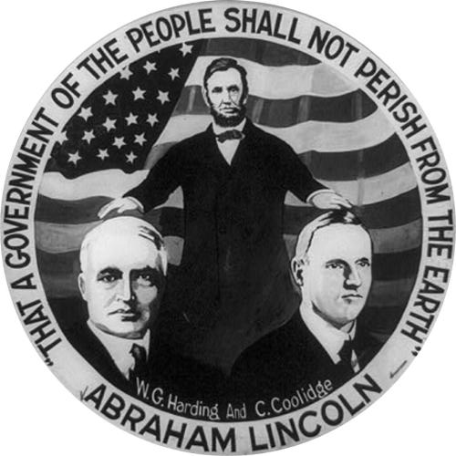 29 Wgh, Abraham Lincoln - 'That a government of the people shall not perish from the Earth,' photograph, c. 1920