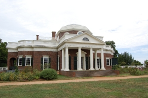 Monticello, West Front - Photo by PJ Creek