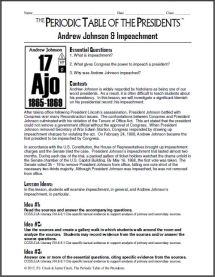 Andrew Johnson Lesson Thumbnail