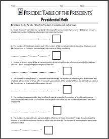 PTOTP Presidential Math Thumbnail