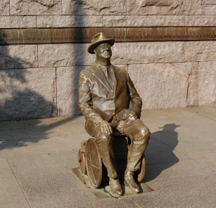 FDR Memorial Statue - Wheelchair