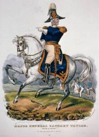 Major General Zachary Taylor - Rough and Ready by Currier