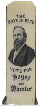 The Boys in Blue Vote for Hayes and Wheeler, 1876 - U.S. American Auctions