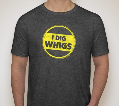 The Periodic Table of the Presidents - I DIG WHIGS T-Shirt
